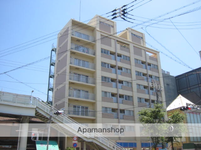 兵庫県尼崎市、尼崎駅徒歩30分の築16年 9階建の賃貸マンション
