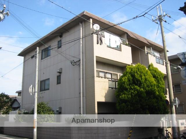 兵庫県尼崎市、尼崎センタープール前駅徒歩19分の築27年 3階建の賃貸マンション