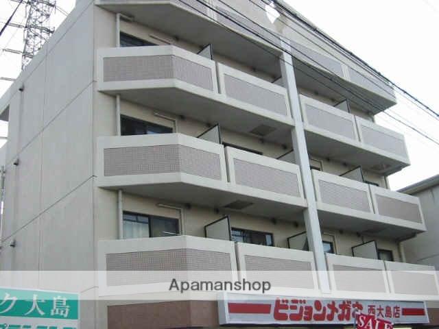 兵庫県尼崎市、立花駅徒歩21分の築19年 4階建の賃貸マンション