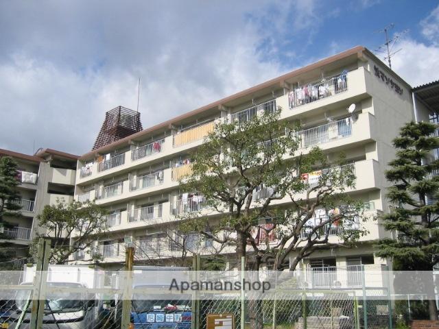 兵庫県尼崎市、尼崎駅徒歩11分の築40年 5階建の賃貸マンション