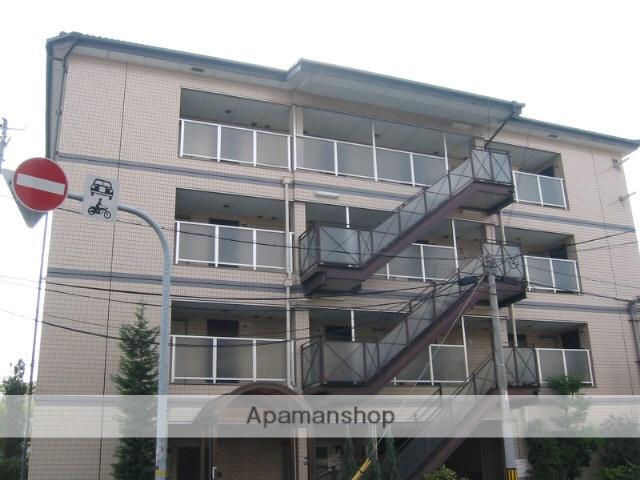 兵庫県尼崎市、杭瀬駅徒歩14分の築25年 4階建の賃貸マンション