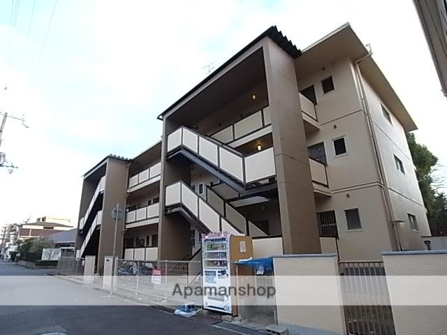 兵庫県尼崎市、立花駅徒歩6分の築46年 3階建の賃貸マンション