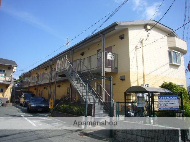 兵庫県尼崎市、立花駅徒歩26分の築28年 2階建の賃貸アパート