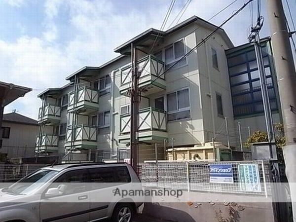 兵庫県西宮市、鳴尾駅徒歩15分の築22年 3階建の賃貸マンション