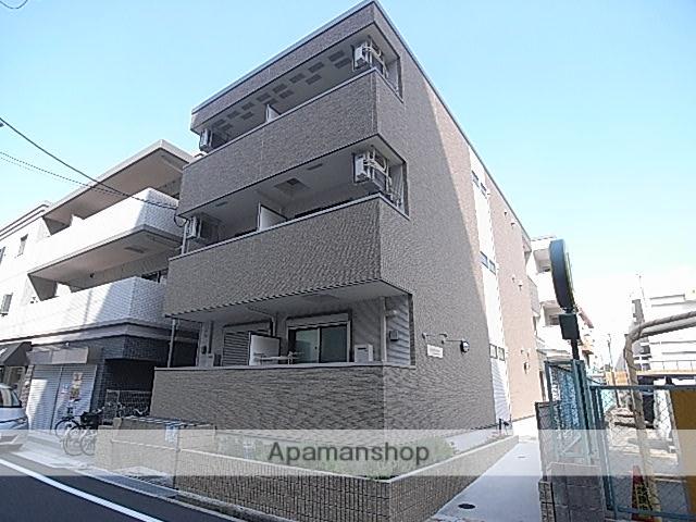 兵庫県尼崎市、尼崎駅徒歩3分の築1年 3階建の賃貸アパート