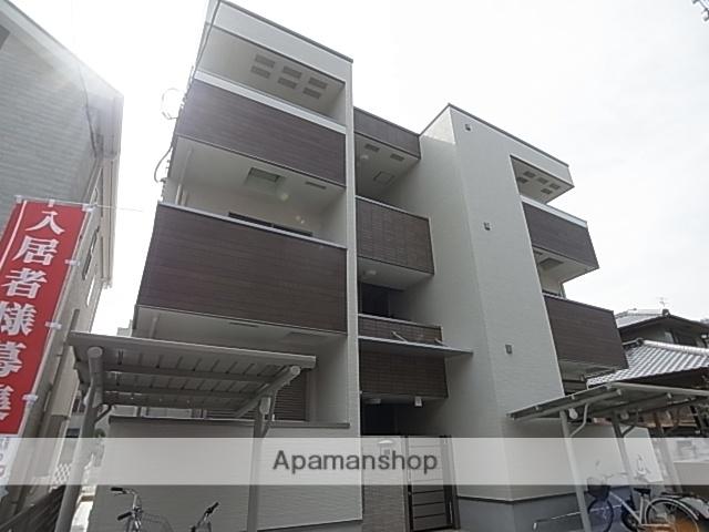 兵庫県尼崎市、立花駅徒歩8分の築1年 3階建の賃貸アパート