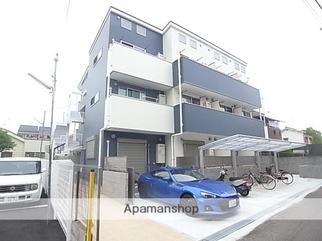 兵庫県尼崎市、尼崎駅徒歩17分の新築 3階建の賃貸アパート