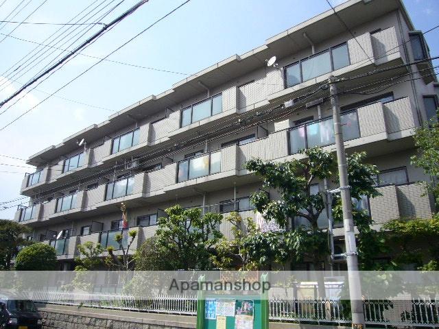 兵庫県尼崎市、尼崎センタープール前駅徒歩11分の築24年 4階建の賃貸マンション