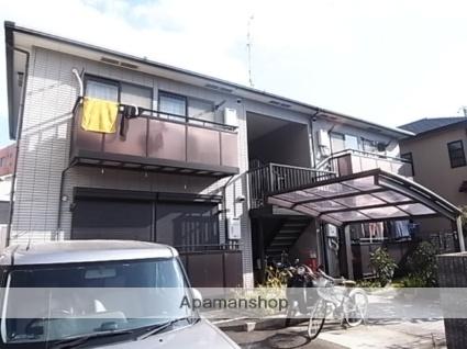 兵庫県尼崎市、立花駅徒歩15分の築19年 2階建の賃貸アパート