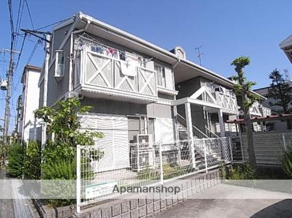 兵庫県尼崎市、尼崎駅徒歩19分の築28年 2階建の賃貸アパート