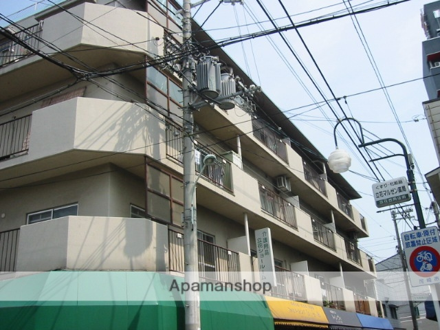 兵庫県尼崎市、立花駅徒歩3分の築38年 5階建の賃貸マンション