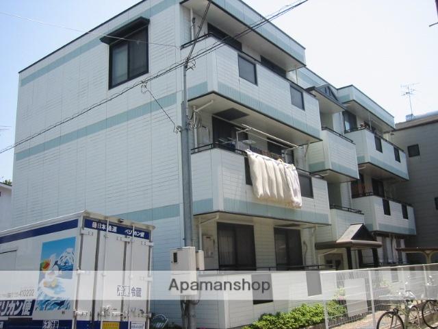 兵庫県尼崎市、立花駅徒歩17分の築20年 3階建の賃貸マンション