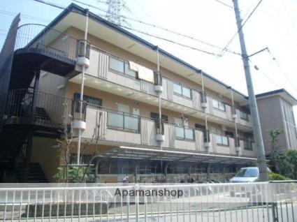 兵庫県尼崎市、塚口駅バスバス30分西昆陽下車後徒歩3分の築22年 3階建の賃貸マンション