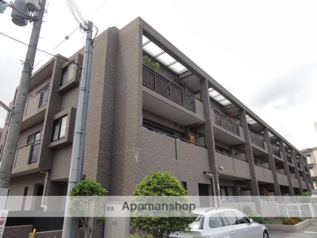 兵庫県西宮市、さくら夙川駅徒歩8分の築18年 3階建の賃貸マンション