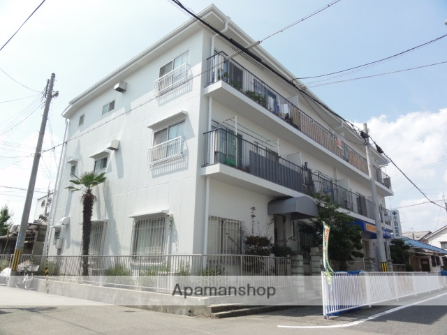 兵庫県尼崎市、立花駅徒歩22分の築31年 3階建の賃貸マンション