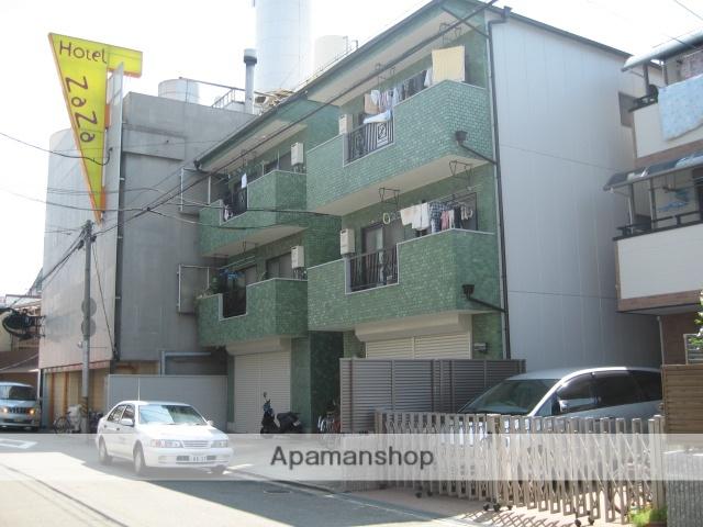兵庫県尼崎市、出屋敷駅徒歩16分の築33年 3階建の賃貸マンション