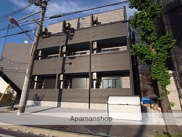 兵庫県尼崎市、尼崎センタープール前駅徒歩16分の新築 3階建の賃貸アパート