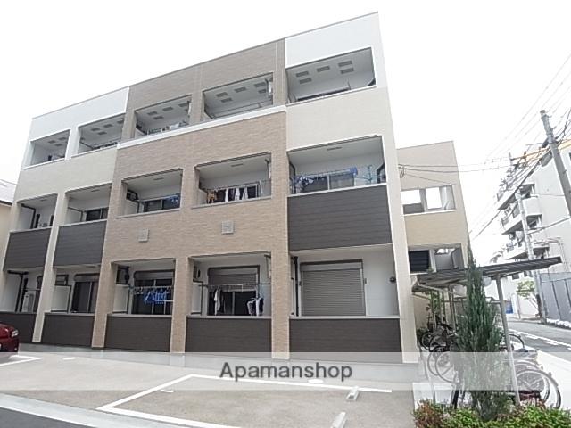 兵庫県尼崎市、尼崎駅徒歩8分の築4年 3階建の賃貸アパート