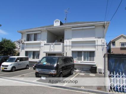 兵庫県宝塚市、中山寺駅徒歩40分の築23年 2階建の賃貸アパート
