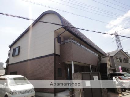 兵庫県宝塚市、宝塚駅徒歩10分の築15年 2階建の賃貸アパート