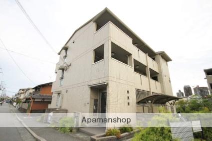 兵庫県宝塚市、宝塚駅徒歩15分の築6年 3階建の賃貸アパート