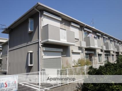 兵庫県宝塚市、小林駅徒歩11分の築20年 2階建の賃貸アパート