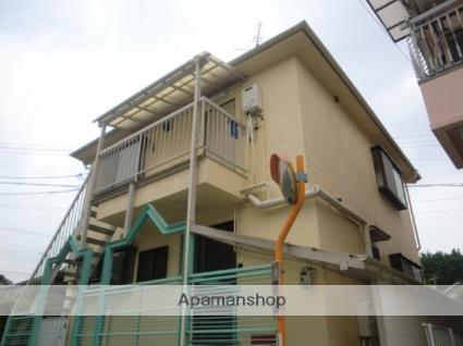 兵庫県川西市、鼓滝駅徒歩10分の築25年 2階建の賃貸アパート