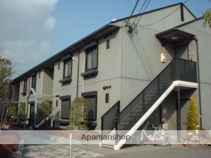 兵庫県宝塚市、宝塚駅徒歩20分の築19年 2階建の賃貸アパート