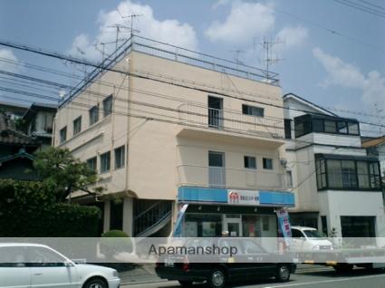 兵庫県川西市、川西池田駅徒歩3分の築46年 3階建の賃貸マンション