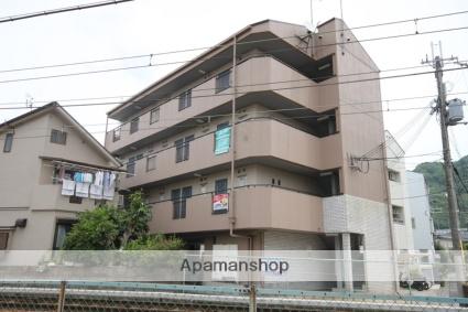 兵庫県川西市、川西池田駅徒歩23分の築26年 4階建の賃貸マンション