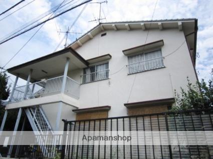兵庫県川西市、川西能勢口駅徒歩15分の築43年 2階建の賃貸アパート