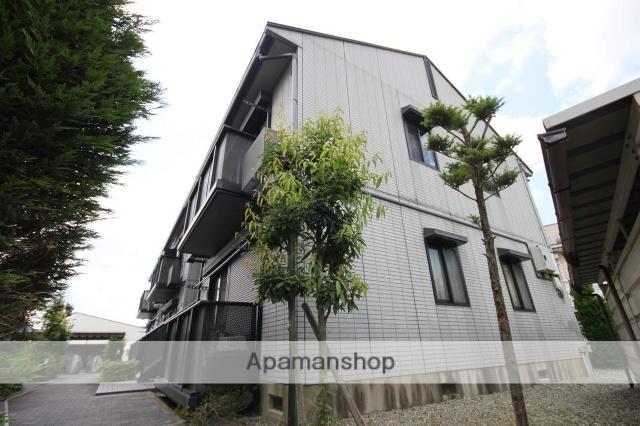 兵庫県川西市、鼓滝駅徒歩18分の築19年 2階建の賃貸アパート
