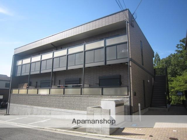 兵庫県川西市、川西能勢口駅バスバス30分平野下車後徒歩10分の築10年 2階建の賃貸アパート
