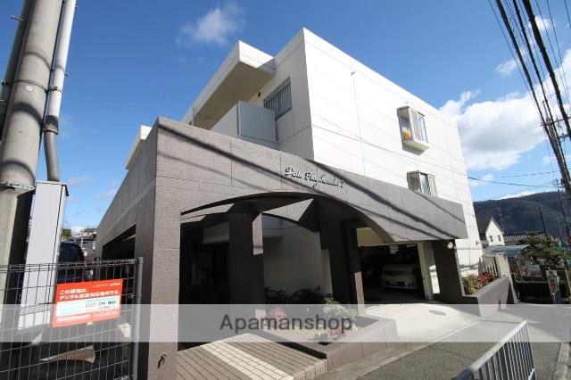 兵庫県川西市、川西能勢口駅徒歩25分の築27年 4階建の賃貸マンション