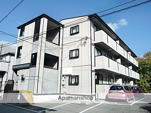 兵庫県宝塚市、宝塚駅徒歩8分の築17年 3階建の賃貸アパート