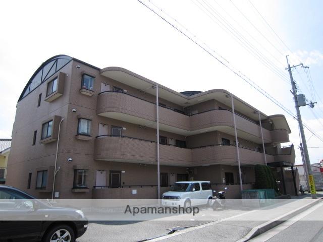 兵庫県川西市、川西能勢口駅徒歩24分の築21年 3階建の賃貸マンション