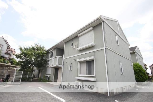 兵庫県川西市、畦野駅徒歩24分の築22年 2階建の賃貸アパート
