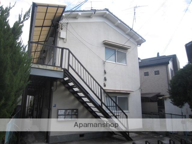 兵庫県宝塚市、川西池田駅徒歩25分の築43年 2階建の賃貸アパート