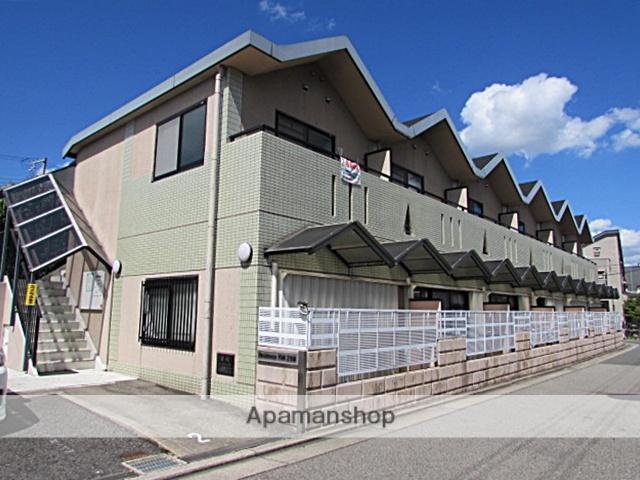 兵庫県宝塚市、川西池田駅徒歩25分の築25年 2階建の賃貸マンション
