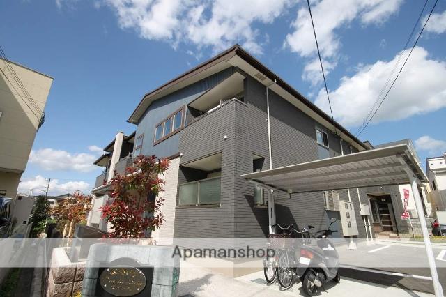 兵庫県川西市、一の鳥居駅徒歩17分の築3年 2階建の賃貸アパート