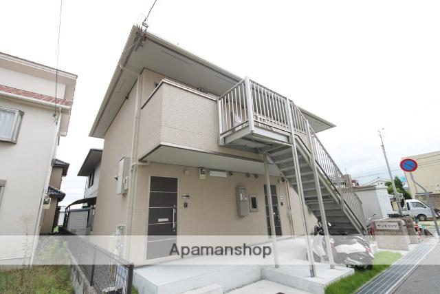 兵庫県宝塚市、中山寺駅徒歩3分の築5年 2階建の賃貸アパート