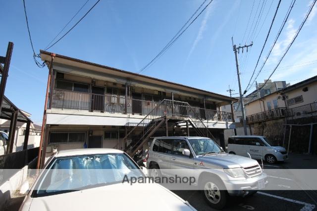兵庫県川西市、鶯の森駅徒歩16分の築40年 2階建の賃貸アパート