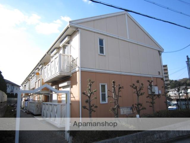 兵庫県川西市、鼓滝駅徒歩18分の築22年 2階建の賃貸アパート