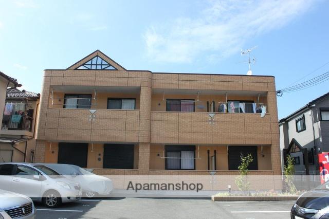 兵庫県川西市、川西池田駅バスバス10分バス下車後徒歩5分の築6年 2階建の賃貸マンション