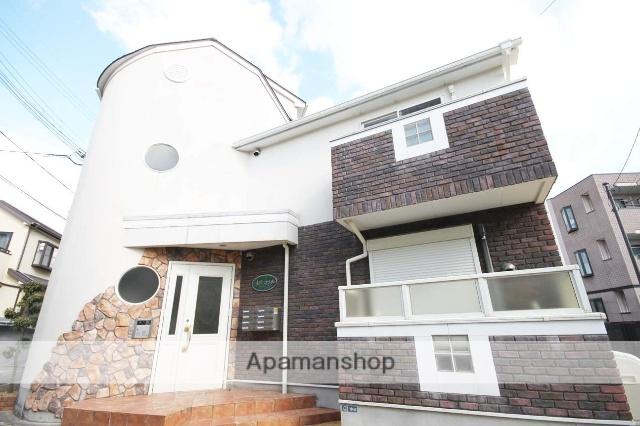 兵庫県川西市、川西能勢口駅徒歩10分の築8年 2階建の賃貸アパート