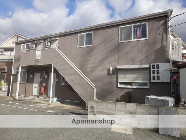兵庫県宝塚市、川西池田駅徒歩22分の築23年 2階建の賃貸アパート
