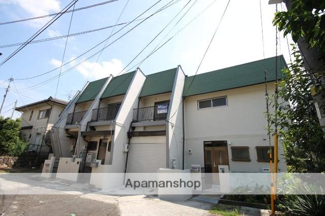 兵庫県宝塚市、川西池田駅徒歩16分の築45年 2階建の賃貸テラスハウス