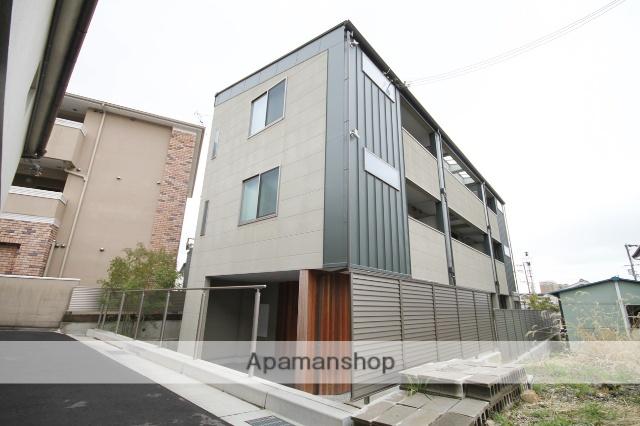 兵庫県川西市、川西能勢口駅徒歩12分の新築 3階建の賃貸アパート