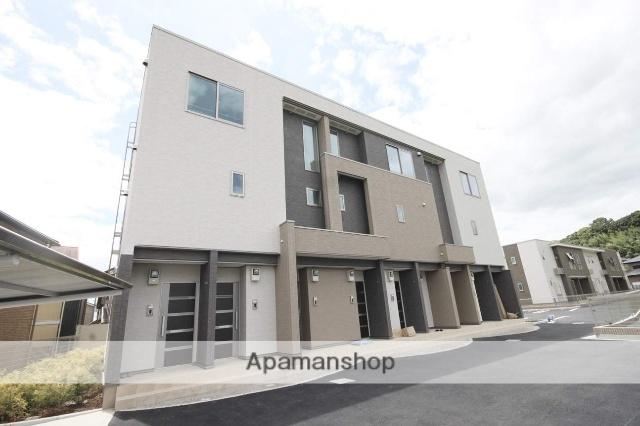 兵庫県川西市、川西能勢口駅徒歩17分の新築 3階建の賃貸アパート