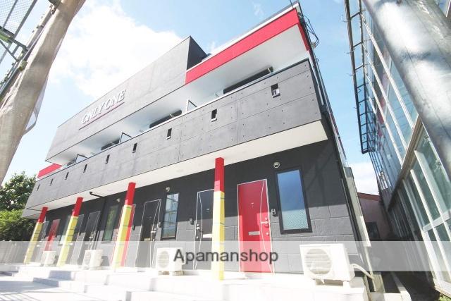 兵庫県宝塚市、中山寺駅徒歩18分の新築 2階建の賃貸アパート